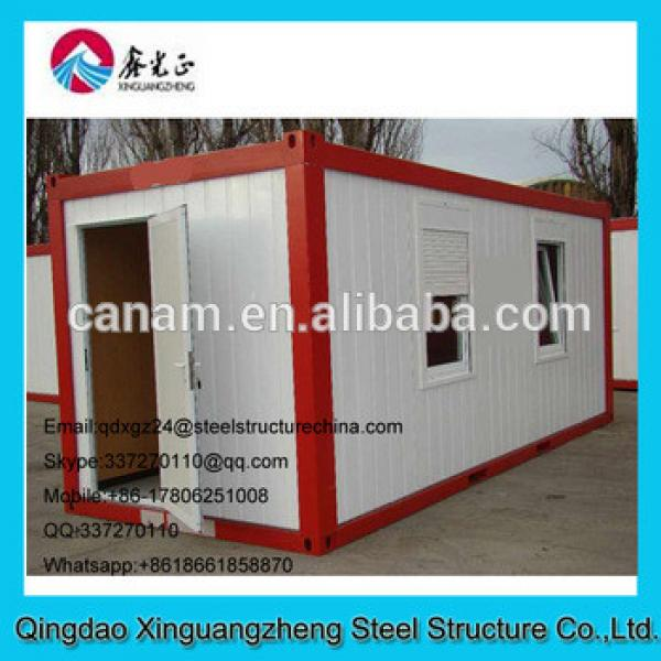 Container house price flat pack sandwich panel house #1 image
