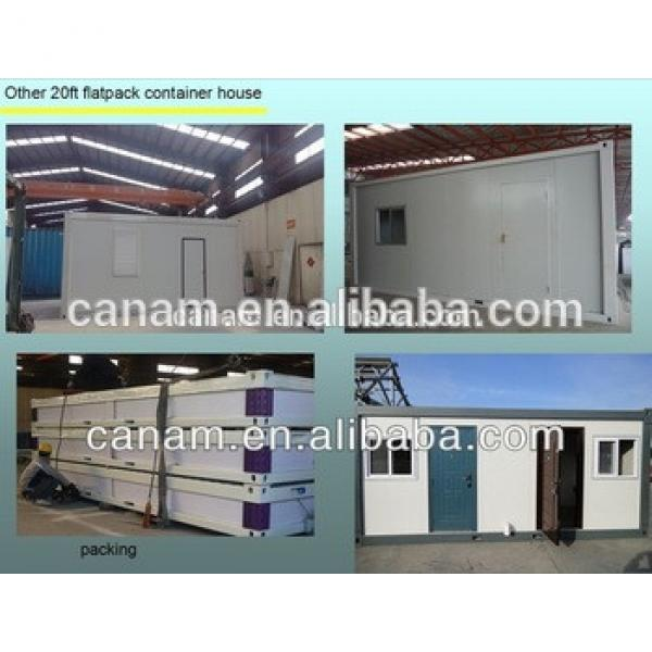 Economic prefab flatpack 20ft' container office with High Quality #1 image