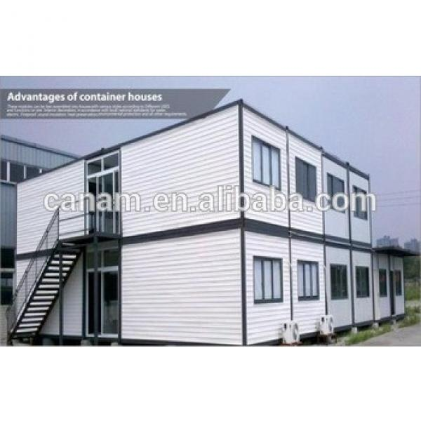Two storey container house flat pack portable home container home #1 image