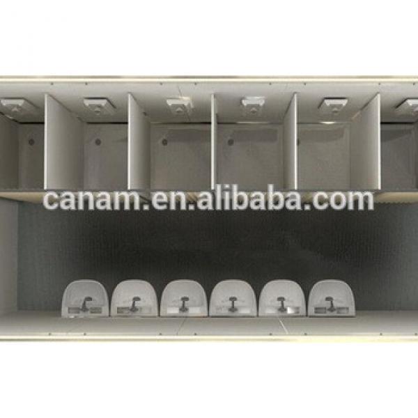 outdoor mobile mudular washroom portable public prefab toilet buildings #1 image