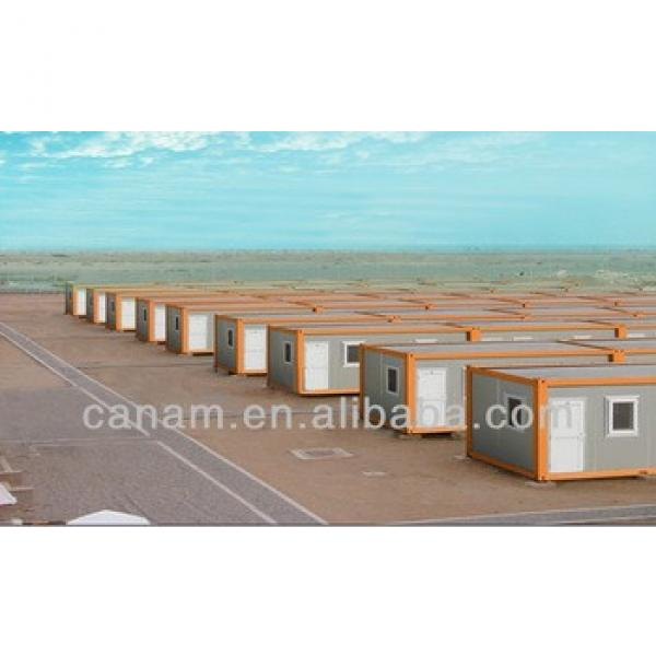 Cheap prefab flatpack 20'ft container house #1 image