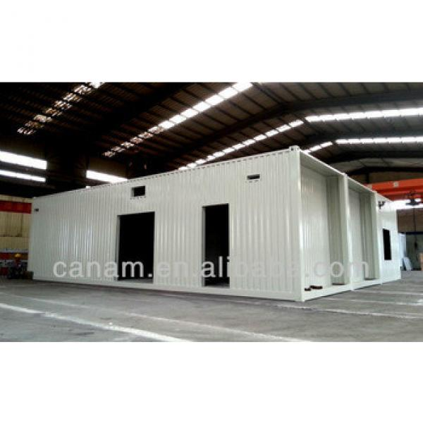 Economic flatpack movable 20ft' container house #1 image