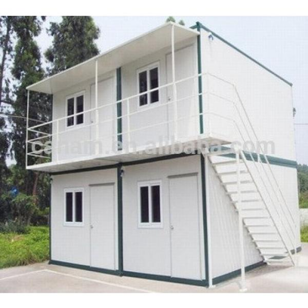 Cheap movable prefab 20ft container house #1 image