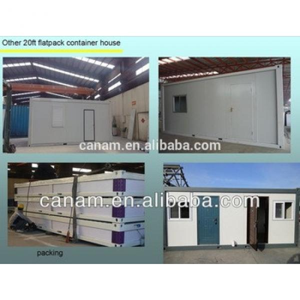 CANAM- prefab container coffee shop with glass door #1 image