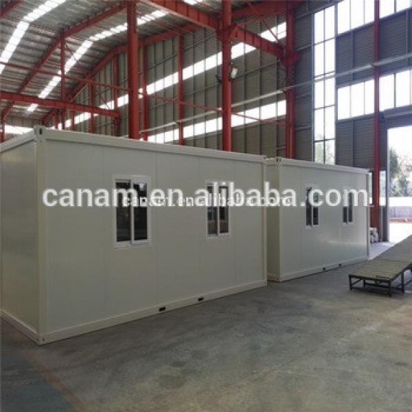 Prefabricated low cost China container house for Africa #1 image