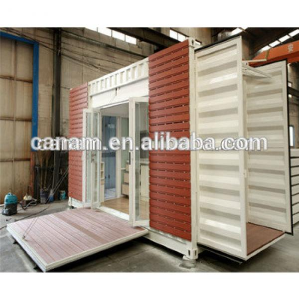 Designed prefab shipping container house for villa #1 image