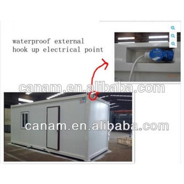 canam- flat pack 20ft office container #1 image