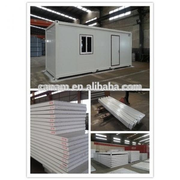 20ft/40ft cheap portable container house for living #1 image