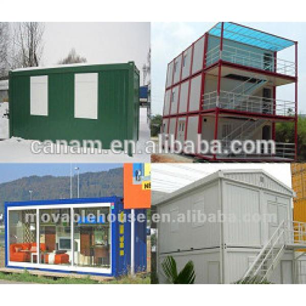 Canam- professional steel frame container house building #1 image