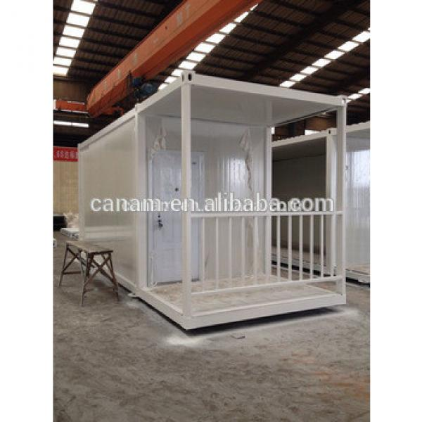 20 ft Economaic flat packed prefabricated container house #1 image