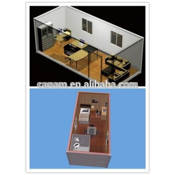 Portable flatpack office container house #1 image