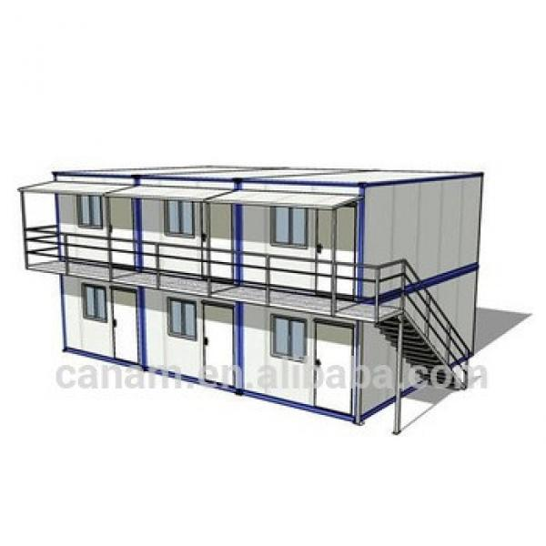 Prefabricated Container outdoor camping house tent #1 image