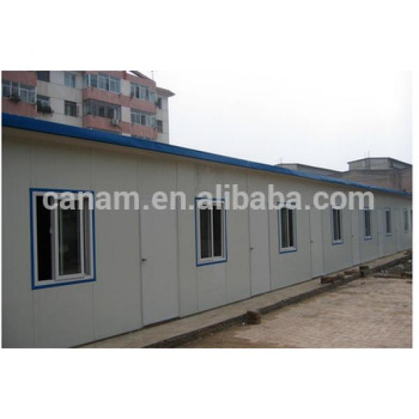 low cost light steel prefab flat pack container house for sale #1 image