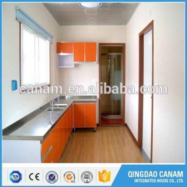 China Leading technology prefab modular house shipping container homes/office/storage for sale to canada #1 image