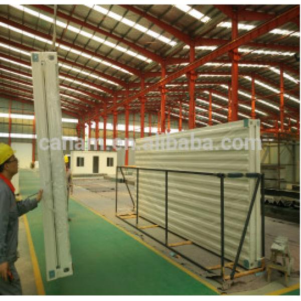 Beautiful and comfortable prefabricated steel frame house #1 image