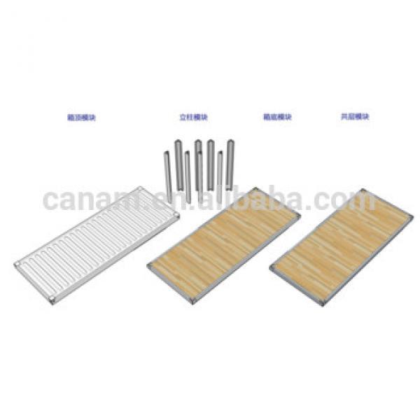 Insulation Modular Light Steel house/Living Sandwich Panel house #1 image