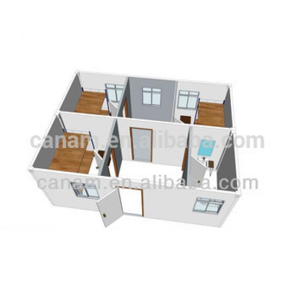 China steel prefabricated metal buildng material steel prefab flatpack container house for living #1 image