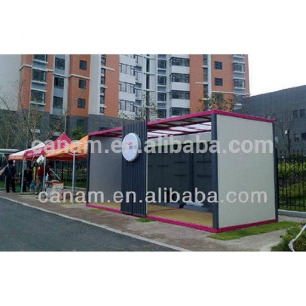Prefabricated House/office container price/40ft container house for sale #1 image