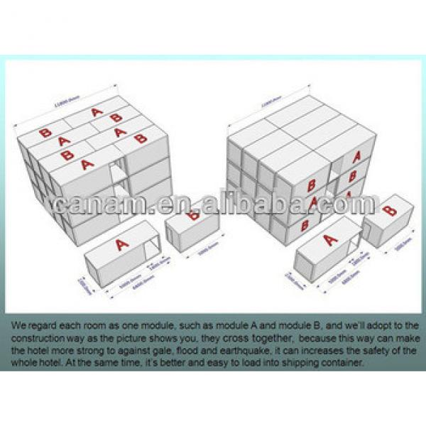Portable Prefabricated Container coffee shop/Storage house #1 image
