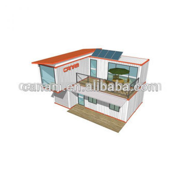 Good Quality Prefab Living Container House From Canam Company #1 image