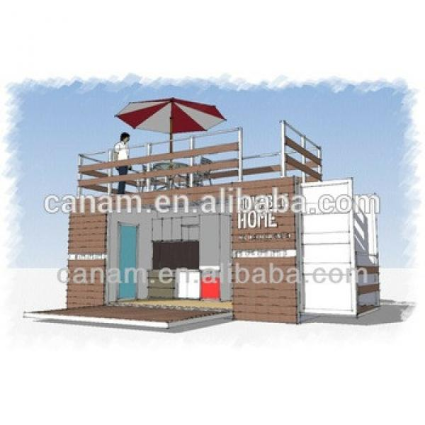 Prefab house simple custom high grade light steel container villa #1 image