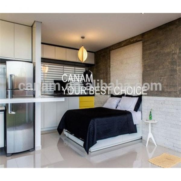 Modern New Structure steel prefabfabrication container house villa #1 image