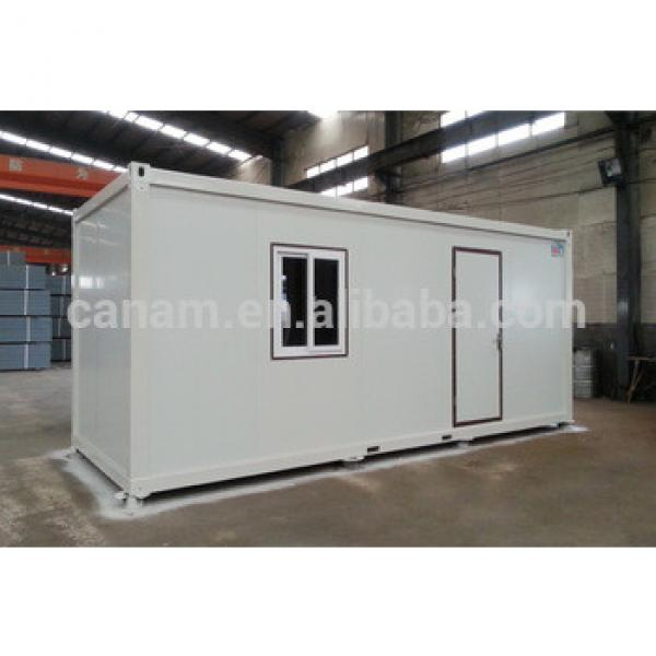 Portable prefab container homes for sale/container villa with stone like decoration #1 image