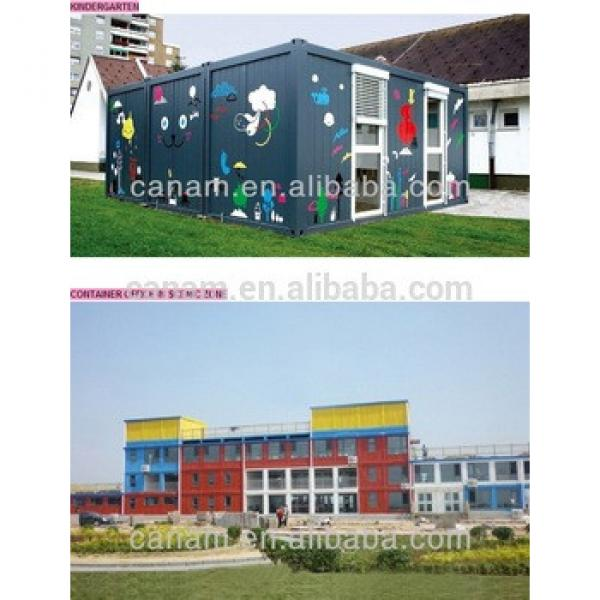 EPS sandwich panel shopping container /container box /container sentry box #1 image