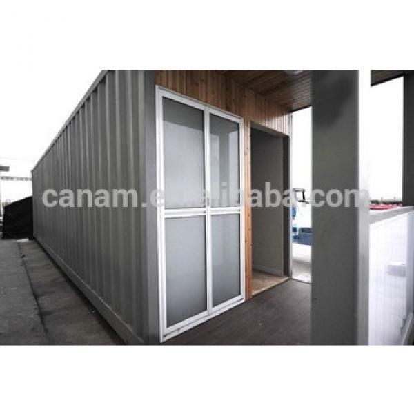 Fashionable flat roof sandwich panel prefab club house #1 image