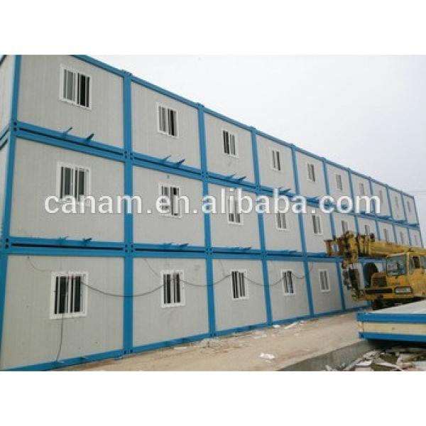 Dubai quick construction container house labor worker camp #1 image