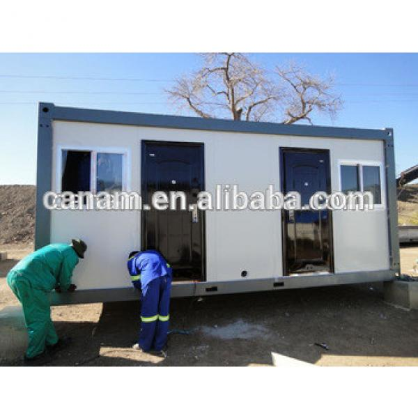 alibaba portable cars type 20 feet container house labor camp #1 image