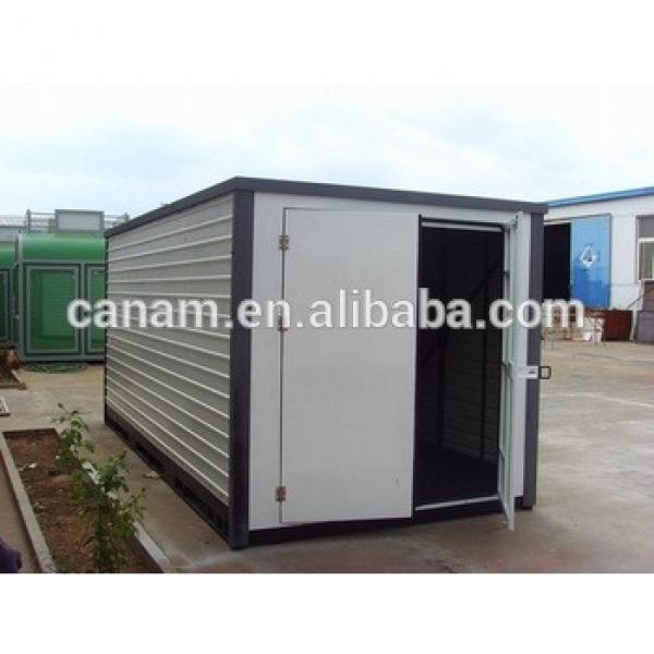 China Temporary site camp prefab container house unit #1 image