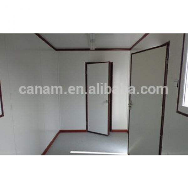 High Quality 20FT flat pack Sandwich Panel prefabricated container insulated cabins #1 image