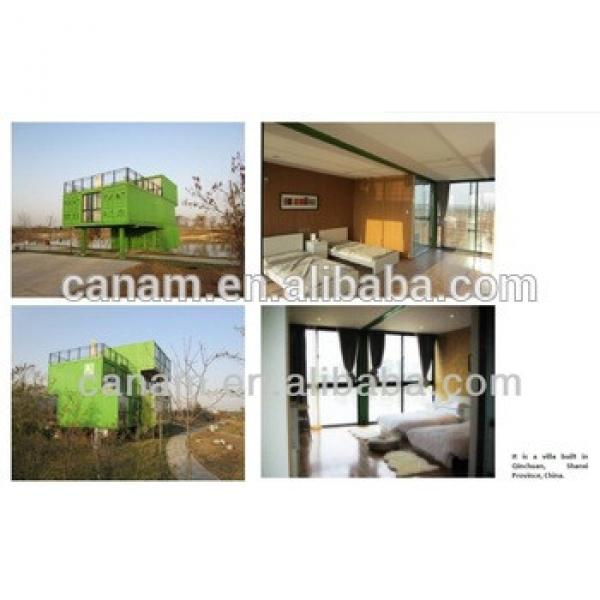 modern container house/prefab house/prefabricated/modular homes #1 image