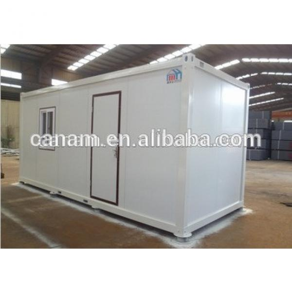 Prefabricated Solid Flat Pack Open Floor Plan Small House #1 image