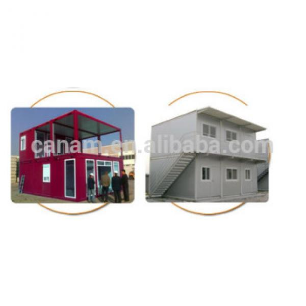 CANAM-portable log cabins double storey 20ft container kit homes #1 image