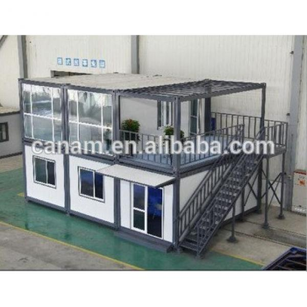 Canam folding container house modified shipping container house #1 image