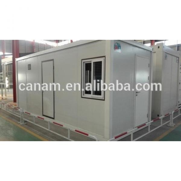 Prefab living house container house with toilet #1 image