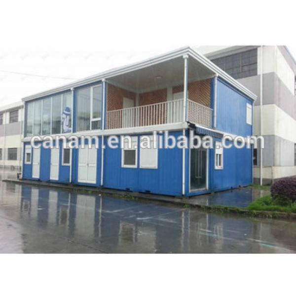 2 layers Flat pack container living house dormitory container house office #1 image