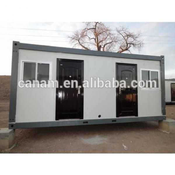 Steel and glass prefabricated container living house #1 image