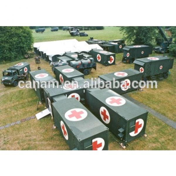 Portable anti-earthquake military container houses #1 image