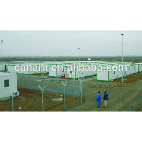 Prefabricated iron steel structure container house #1 image