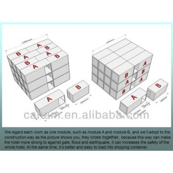 flat packed luxury and economical prefab container hotels #1 image