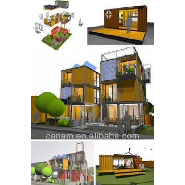 prefab prefab shipping container house with long lifetime #1 image