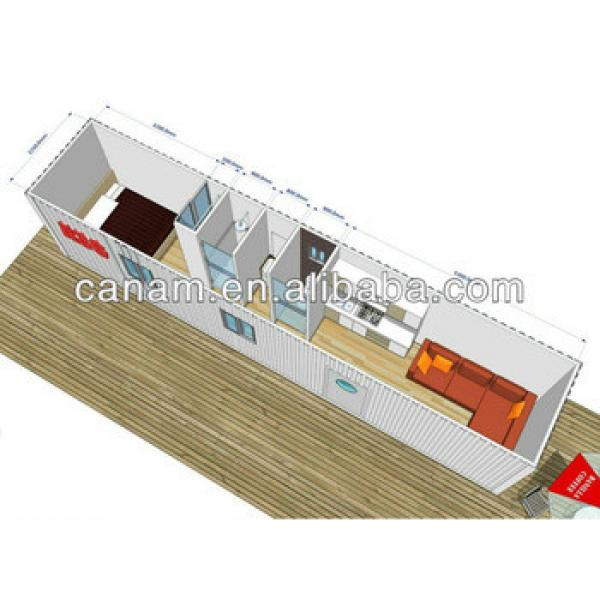 CANAM- 40 ft container resort hotel #1 image