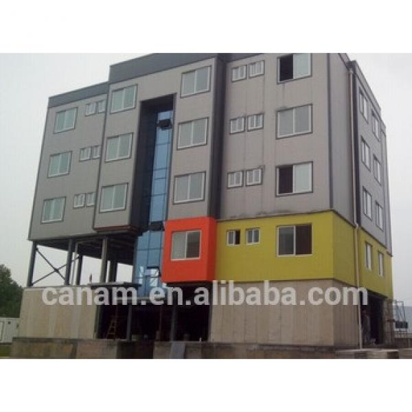 20ft ISO prefab container hotel model with toilet, bedroom #1 image