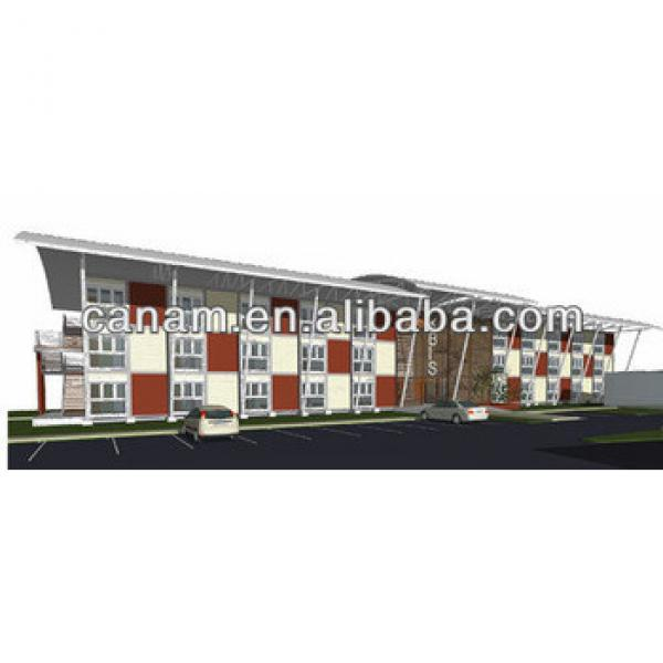 China modern prefab container house hotel price #1 image
