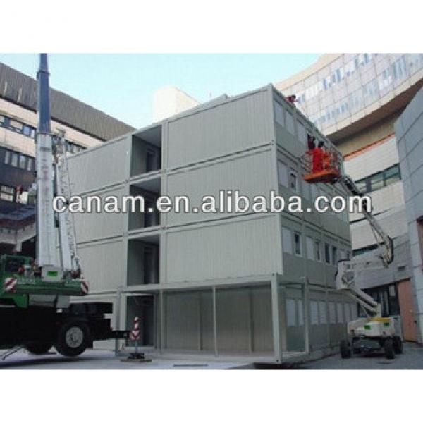 Prefabricated modular container hotel room #1 image