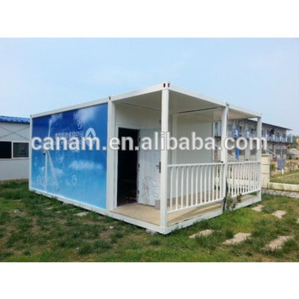 low cost prefabricated flat pack modern container house design #1 image