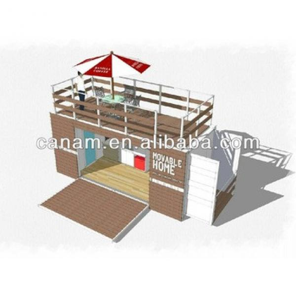 cheap Prefab Modified shipping Container house china #1 image